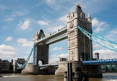 Tower bridge. London. UK. Royalty Free Stock Photo