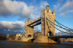 Tower Bridge, London, UK Stock Images
