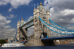 Tower Bridge, London, UK Royalty Free Stock Photo