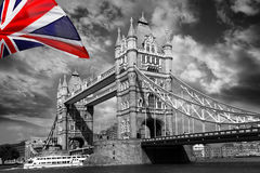 Tower Bridge, London, UK Stock Images