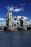 Tower Bridge, London, UK. Famous Tower Bridge with skyscrapers  in London, UK Stock Image