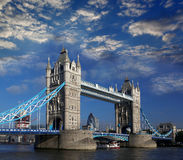 Tower Bridge in  London, UK Stock Photos