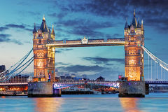 Tower Bridge in London, UK Royalty Free Stock Photo