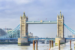 Tower Bridge in London Stock Photos