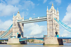 Tower Bridge in London, UK Royalty Free Stock Image