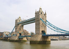 The Tower bridge in London. Royalty Free Stock Photos