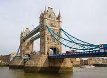 The Tower bridge in London. Stock Images
