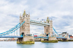 Tower Bridge in London. UK stock image