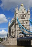Tower Bridge in London, UK in a beautiful summer d Stock Images