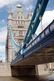 Tower Bridge in London, UK in a beautiful summer d Stock Photography
