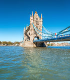 Tower Bridge in London, UK Stock Image