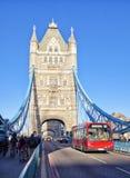 Tower Bridge in London, UK Royalty Free Stock Images