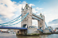 Tower bridge , London , UK Royalty Free Stock Image