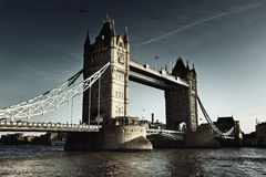 Tower Bridge in London, UK Royalty Free Stock Photography
