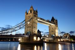Tower Bridge, London, UK Royalty Free Stock Photos
