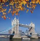 Tower Bridge in London, UK Stock Images