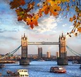 Tower Bridge in London, UK Royalty Free Stock Photography