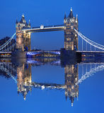 Tower Bridge, London, UK. Famous Tower Bridge in the evening, London, UK Royalty Free Stock Photography