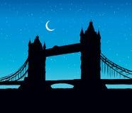 Tower bridge, London, UK. Hand drawn vector illustration Royalty Free Stock Image