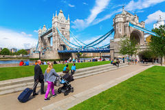 Tower Bridge in London, UK Stock Photo