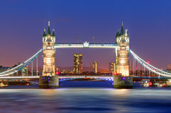 Tower Bridge in London, UK Royalty Free Stock Images