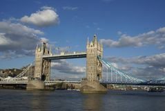 The Tower Bridge in London, UK Stock Photos