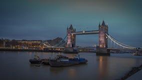 Tower Bridge  London UK. Royalty Free Stock Photos