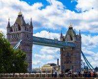 Tower Bridge in London, UK Stock Photos