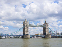 Tower Bridge in London, UK, United Kingdom Royalty Free Stock Image
