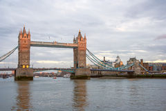 Tower Bridge in London, United  Kingdom Royalty Free Stock Photo