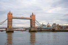 Tower Bridge in London, United  Kingdom Royalty Free Stock Photo