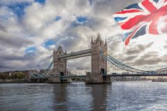 Tower Bridge in London, United Kingdom Stock Photography