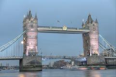 Tower Bridge, London, United Kingdom Royalty Free Stock Photos