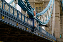 Tower Bridge, London, unusual Royalty Free Stock Images