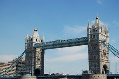 Tower Bridge Long Royalty Free Stock Images