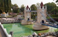 Tower bridge in Mini Siam Park Stock Photography