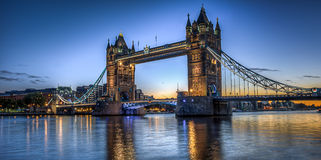 Tower bridge in the morning Royalty Free Stock Images