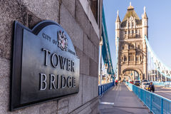 Tower bridge in the morning, London Stock Photography