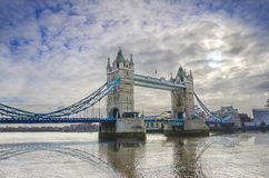 Tower Bridge in the morning, London Royalty Free Stock Image
