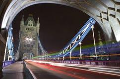 Tower Bridge at Night royalty free stock photography