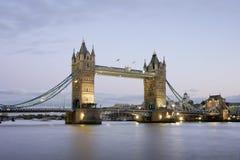 Tower Bridge at night. London, United Kingdom Royalty Free Stock Image