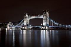 Tower Bridge at night Royalty Free Stock Image