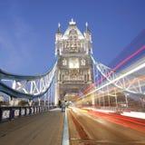 Tower Bridge at night Royalty Free Stock Photos