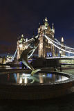 Tower Bridge by night Stock Photography