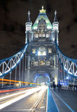 Tower Bridge at Night. The iconic Tower Bridge in London. Taken at Night with a long exposure Stock Image
