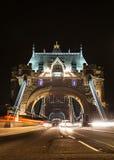 Tower bridge at night, London. England Royalty Free Stock Image