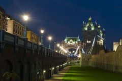 Tower bridge by night Royalty Free Stock Photo
