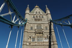 Tower Bridge. Old Tower bridge,London,Great Britain Stock Images