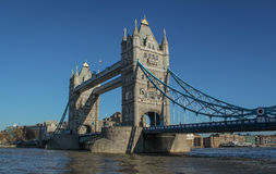 Tower Bridge. Old Tower bridge,London,Great Britain Royalty Free Stock Photos