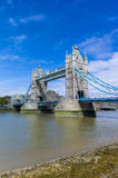 Tower bridge. One of the most famous landmarks in London.  The Tower Bridge Royalty Free Stock Images
